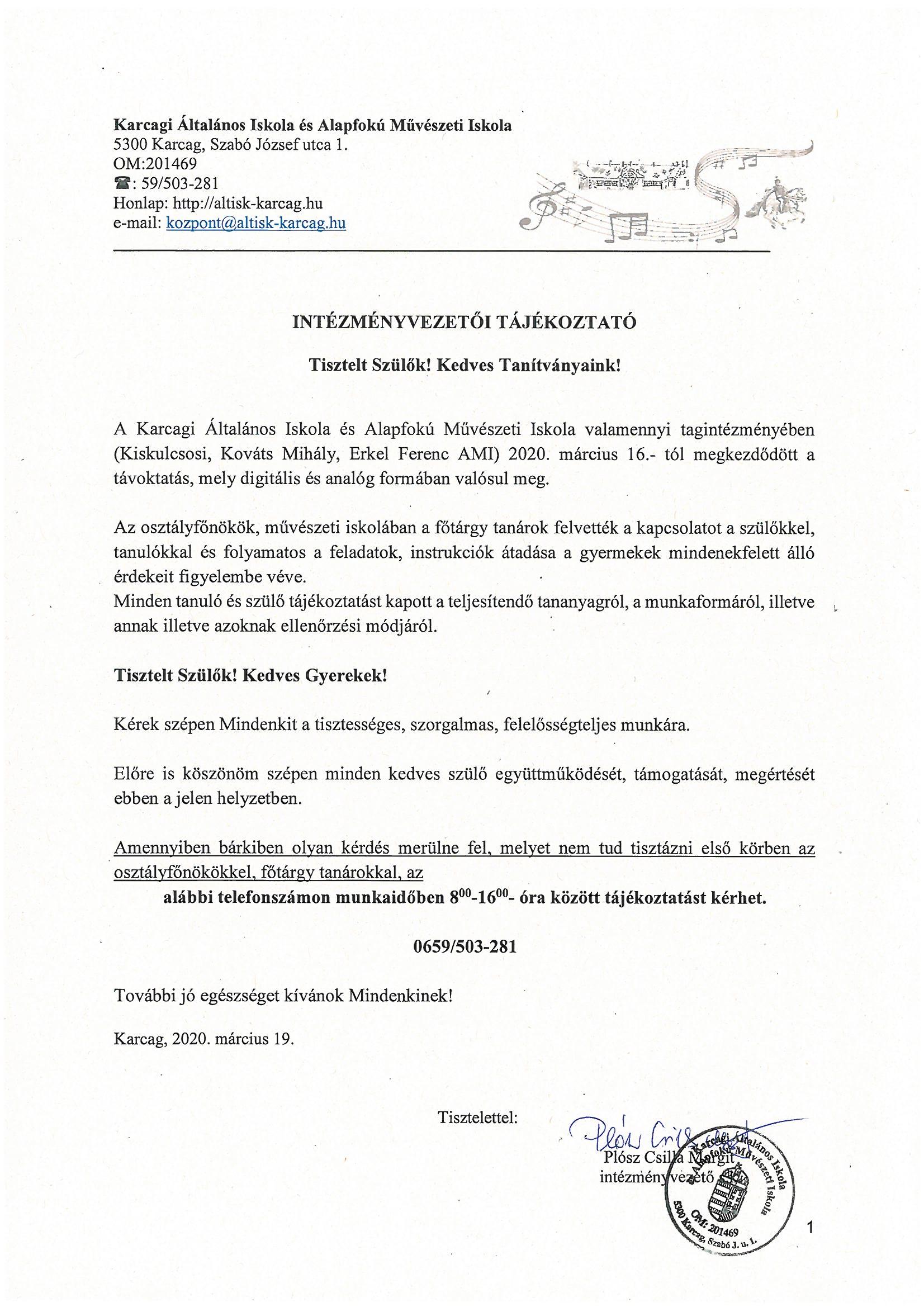 Karcagi Általános Iskola és Alapfokú Művészeti Iskola